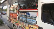 عربات الطعام المتنقلة
