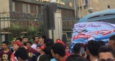 احتفالات شعبية أمام ديوان محافظة الغربية