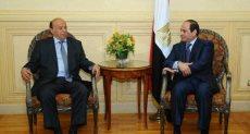 السيسي والرئيس اليمني