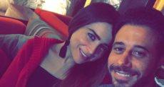 أحمد السعدني ومي عز الدين