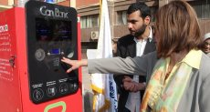"""افتتاح جهاز """" Can Bank """" صديق البيئة بجامعة عين شمس"""
