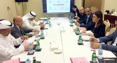اجتماع وزيرة الاستثمار مع الصناديق الأربعة