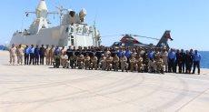 إختتام فعاليات التدريب البحرى المصرى/ الإماراتى المشترك