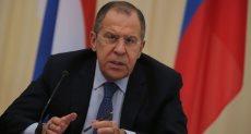 سيرجى لافروف وزير الخارجية الروسى