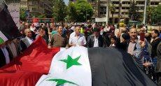 جانب من الحشد السوري في حلب