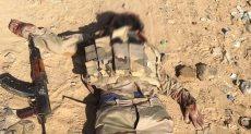 صور إحباط هجوم إرهابى بوسط سيناء