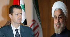 بشار الأسد وروحاني