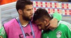 احمد الشناوي وشريف اكرامي