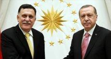 أردوغان وفايز السراج