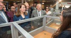 افتتاح ملتقى التوظيف بجامعة القاهرة