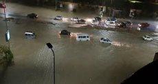 السيول في القاهرة الجديدة