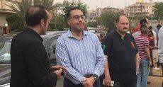 وزير الإسكان مصطفى مدبولي أثناء تواجده بالتجمع الخامس
