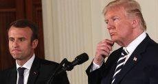 ترامب مع ماكرون