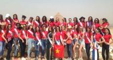 ملكات جمال العالم فى مصر
