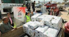 قوافل تحيا مصر توزع اللحوم بالإسكندرية