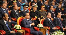 السيسي يحتفل بذكرى تحرير سيناء