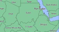 خريطة ميناء بور تسودان