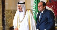الرئيس عبد الفتاح السيسي وخادم الحرمين الشريفين الملك سلمان