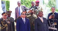 السيسي ونظيره الأوغندي
