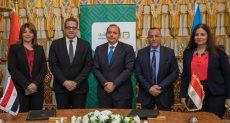 تعاون مشترك بين البنك الأهلي ووزارة الآثار