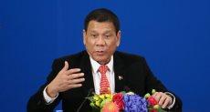 الرئيس الفلبينى دوتيرتى