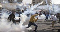اشتباكات قوات الاحتلال مع الفلسطينيين