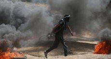 اشتباكات الفلسطينيين مع قوات الاحتلال الاسرائيلي