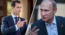 بوتين - الأسد