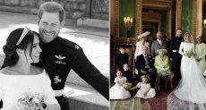صور زفاف هاري وميجان
