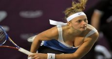 لاعبة التنس بيترا كفيتوفا