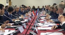 المهندس طارق قابيل خلال لقاءه بالمستثمرين الروسيين