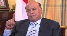 الرئيس اليمنى منصور الهادى