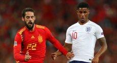 مباراة اسبانيا وانجلترا