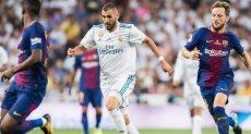 كريم بنزيمة مهاجم ريال مدريد