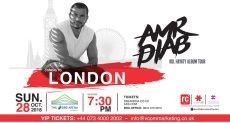 حفل عمرو دياب في لندن