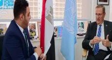 السفير ريتشارد ديكتوس المنسق المقيم للأمم المتحدة فى مصر