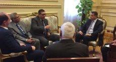 السفير أحمد شاهين رئيس الوكالة المصرية