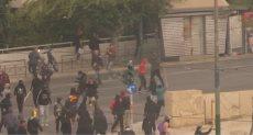 اشتباكات بين الطلاب والشرطة