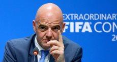 اينفانتينو رئيس الاتحاد الدولي لكرة القدم