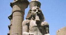 تمثال رمسيس الثاني  - أرشيفية