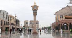 أمطار بالمدينة المنور