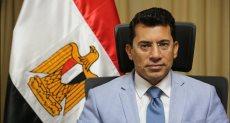 أشرف شوقى وزير الشباب والرياضة