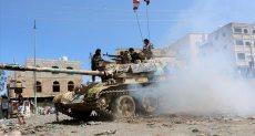 معارك حادة بين المقاومة والحوثيين