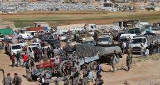 النازحين السوريين