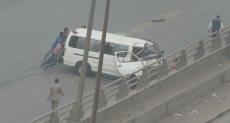 مشهد من الحادث