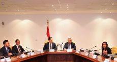 خالد العطار نائب وزير الاتصالات خلال توقيع الاتفاقيات مع IBM