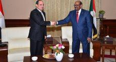 الرئيسان المصرى والسودانى