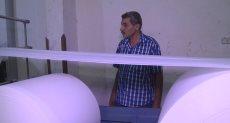 سامى بدر صاحب مصنع المنتجات الورقية