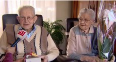 هولندي يحتفل بمرور 80 عاما على زواجه