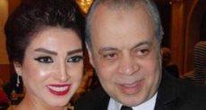 أشرف زكى وزوجته روجينا
